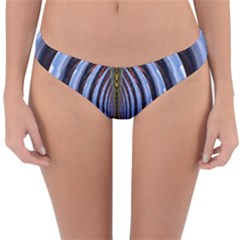 Illustration Robot Wave Rainbow Reversible Hipster Bikini Bottoms by Mariart