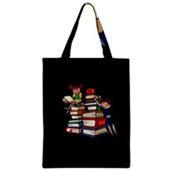 Back To School Zipper Classic Tote Bag by Valentinaart