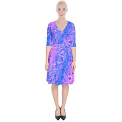 The Luxol Fast Blue Myelin Stain Wrap Up Cocktail Dress