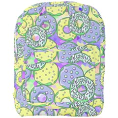 Donuts Pattern Full Print Backpack by ValentinaDesign