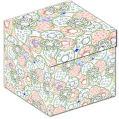 Donuts Pattern Storage Stool 12   by ValentinaDesign