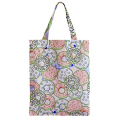 Donuts Pattern Classic Tote Bag by ValentinaDesign