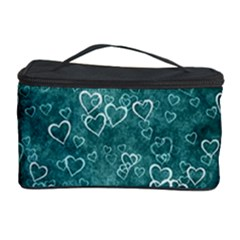 Heart Pattern Cosmetic Storage Case by ValentinaDesign