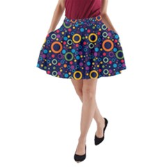 70s Pattern A Line Pocket Skirt by ValentinaDesign