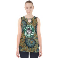 bodypainting Coffee Logo    Cut Out Tank Top