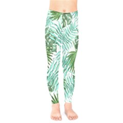 Tropical Pattern Kids  Legging by ValentinaDesign