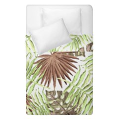 Tropical Pattern Duvet Cover Double Side (single Size) by ValentinaDesign