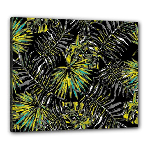 Tropical Pattern Canvas 24  X 20  by ValentinaDesign