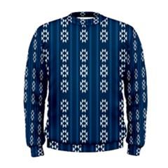 Folklore Pattern Men s Sweatshirt by ValentinaDesign