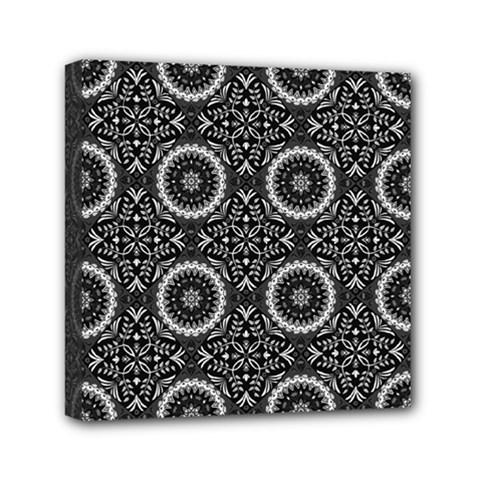 Oriental Pattern Mini Canvas 6  X 6  by ValentinaDesign