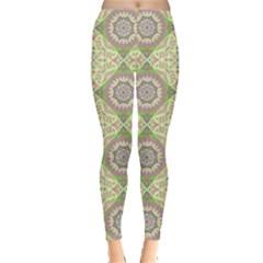 Oriental Pattern Leggings  by ValentinaDesign