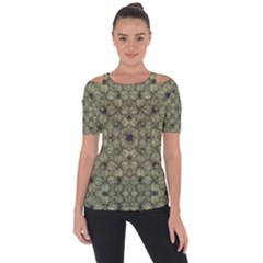 Stylized Modern Floral Design Short Sleeve Top by dflcprints