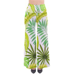 Amazon Forest Natural Green Yellow Leaf Pants by Mariart