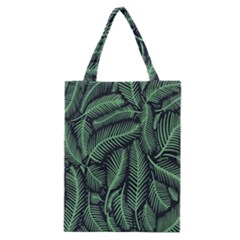 Coconut Leaves Summer Green Classic Tote Bag by Mariart