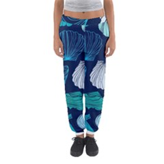 Mega Menu Seashells Women s Jogger Sweatpants by Mariart