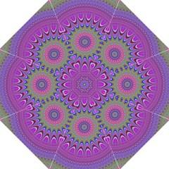 Art Mandala Design Ornament Flower Golf Umbrellas by BangZart
