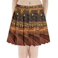 Florida State University Pleated Mini Skirt by BangZart