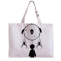 Voodoo Dream Catcher  Zipper Mini Tote Bag by Valentinaart