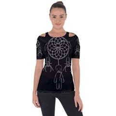 Voodoo Dream Catcher  Short Sleeve Top by Valentinaart