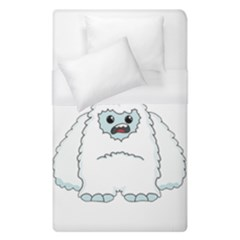 Yeti   I Saw A Man Duvet Cover (single Size) by Valentinaart
