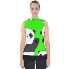 Cute Pandas Shell Top