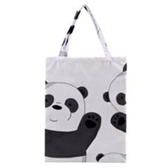 Cute Pandas Classic Tote Bag by Valentinaart