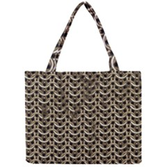 Sparkling Metal Chains 01a Mini Tote Bag by MoreColorsinLife