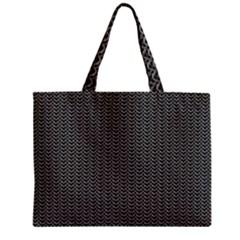 Sparkling Metal Chains 03a Zipper Mini Tote Bag by MoreColorsinLife