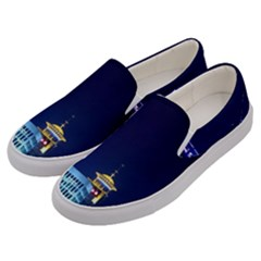 Shanghai Oriental Pearl Tv Tower Men s Canvas Slip Ons by BangZart