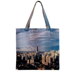 Shanghai The Window Sunny Days City Grocery Tote Bag by BangZart