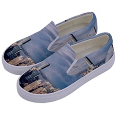 Shanghai The Window Sunny Days City Kids  Canvas Slip Ons by BangZart