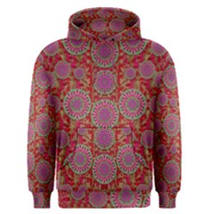 Hearts Can Also Be Flowers Such As Bleeding Hearts Pop Art Men s Pullover Hoodie by pepitasart