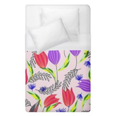 Floral Paradise Duvet Cover (single Size) by allgirls