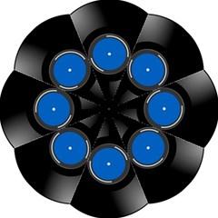 Vinyl Record Hook Handle Umbrellas (large) by Photozrus