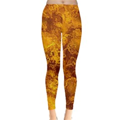 Wonderful Marbled Structure H Leggings  by MoreColorsinLife
