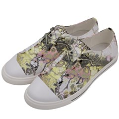 Awesome Fractal 35h Men s Low Top Canvas Sneakers by MoreColorsinLife
