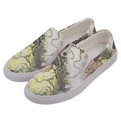 Awesome Fractal 35h Men s Canvas Slip Ons by MoreColorsinLife