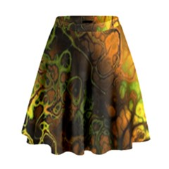 Awesome Fractal 35e High Waist Skirt