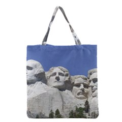 Mount Rushmore Monument Landmark Grocery Tote Bag by Nexatart