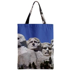 Mount Rushmore Monument Landmark Zipper Classic Tote Bag by Nexatart