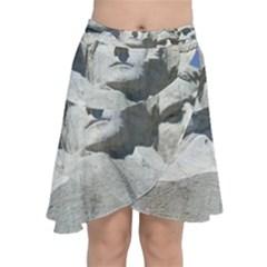 Mount Rushmore Monument Landmark Chiffon Wrap