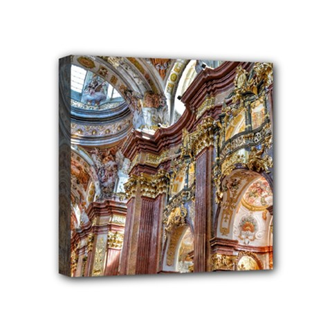 Baroque Church Collegiate Church Mini Canvas 4  X 4