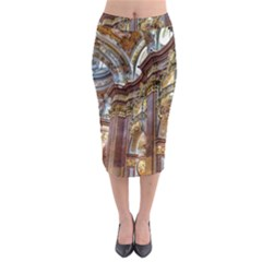 Baroque Church Collegiate Church Midi Pencil Skirt by Nexatart