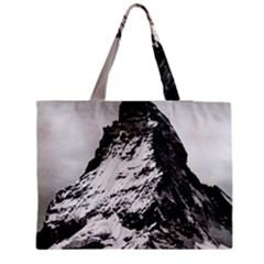 Matterhorn Switzerland Mountain Zipper Medium Tote Bag by Nexatart