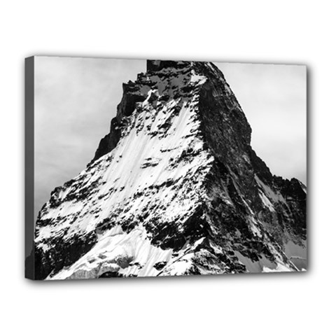Matterhorn Switzerland Mountain Canvas 16  X 12  by Nexatart