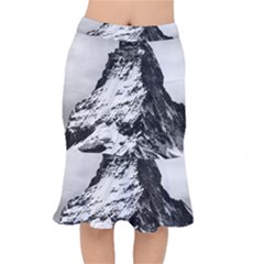Matterhorn Switzerland Mountain Mermaid Skirt by Nexatart