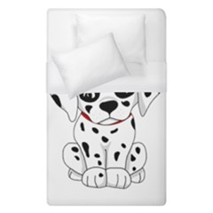 Cute Dalmatian Puppy  Duvet Cover (single Size) by Valentinaart