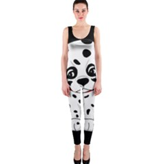 Cute Dalmatian Puppy  Onepiece Catsuit by Valentinaart
