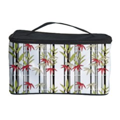 Bamboo Pattern Cosmetic Storage Case by ValentinaDesign