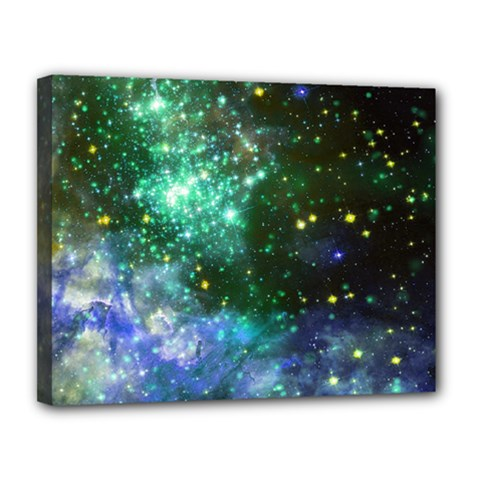 Space Colors Canvas 14  X 11  by ValentinaDesign